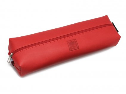 Pouzdro na tužky CHERRY RED s elastickou gumičkou