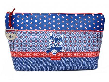 Kosmetická taštička NEW RED NEW BLUE!