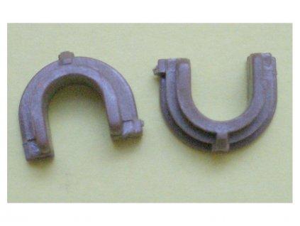 Pouzdro dolního fixačního válce (levé + pravé) - HP LJ P 1005/ 1006