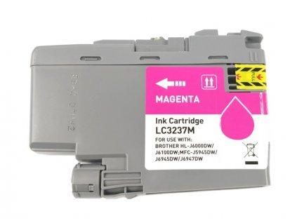 Inkoustová kazeta - BROTHER LC-3237M - magenta - kompatibilní