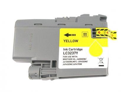 Inkoustová kazeta - BROTHER LC-3237Y - yellow - kompatibilní