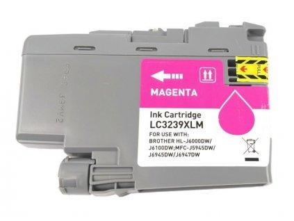 Inkoustová kazeta - BROTHER LC-3239XLM - magenta - kompatibilní