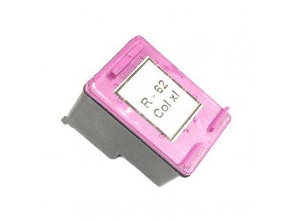 Inkoustová kazeta - HP C2P07AE (62XL) - color - renovovaná