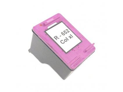 Inkoustová kazeta - HP F6V24AE (652) - color - renovovaná