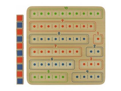 Vzdělávací hračka naučte se sčítat a odčítat