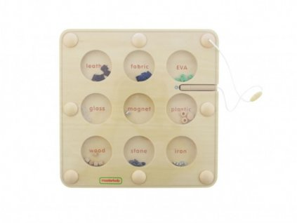 Vzdělávací hra - které materiály jsou magnetické