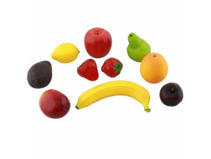 Sada 10 kusů ovoce pro dětskou kuchyň
