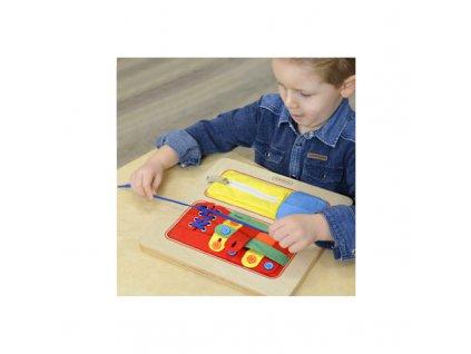 Vzdělávací hra - učení se praktickým dovednostem