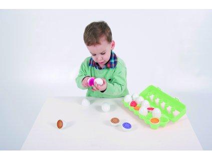Barevná interaktivní vajíčka