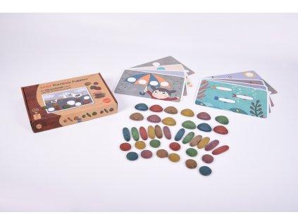 Hry s barevnými kamínky - ekologické provedení