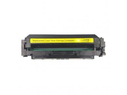 Tonerová kazeta - CANON 055H, 3017C002 - yellow - kompatibilní - bez čipu