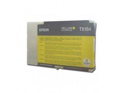 Inkoustová kazeta - EPSON T6164 - yellow - originál