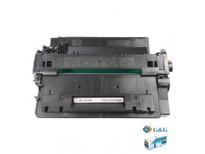 Tonerová kazeta - HP CE255X (55X) - kompatibilní G&G