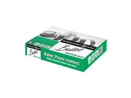 Kancelářský papír - BALLET A4, bílý, 80 g/m2, 500 listů