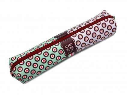 Pouzdro na tužky BLOOM UP s elastickým popruhem - malé