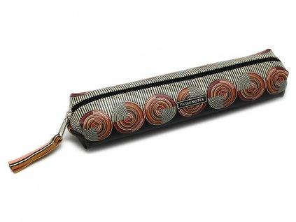 Pouzdro na tužky KUBA s elastickým popruhem - malé