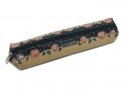 Pouzdro na tužky BE ORIGINAL IN AUTUMN s elastickým popruhem - malé