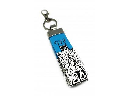 Přívěsek na klíče DOGS OUT