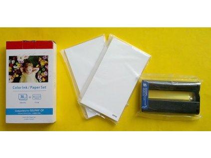 Sada 36ks papírů 100x148mm + Tisková kazeta - CANON KP-36IN - kompatibilní
