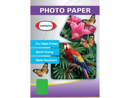 Glossy sticker special - lesklý samolepící fotopapír - A4, 135 g/m2 - FOPRINT