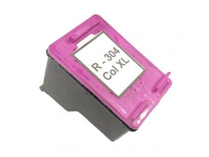 Inkoustová kazeta - HP N9K07AE (304XL) - color - renovovaná