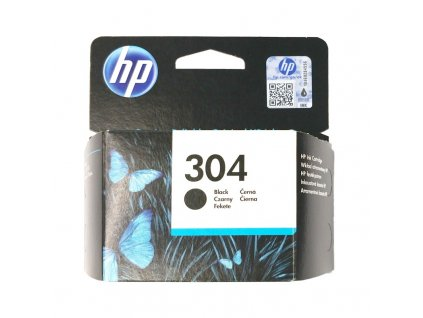 Inkoustová kazeta - HP N9K06AE (304) - black - originál