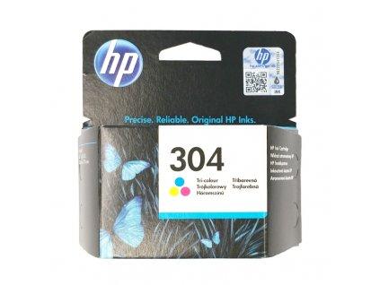 Inkoustová kazeta - HP N9K05AE (304) - color - originál