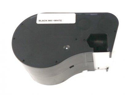 Páska - BRADY MC-1000-595-WT-BK - Vinyl - 25,4 mm bílá - černý tisk - kompatibilní