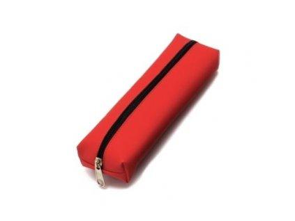 Pouzdro na tužky BASIC COLOR červené - velké