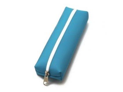Pouzdro na tužky BASIC COLOR tyrkysové - velké