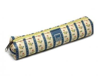 Pouzdro na tužky VINTAGE B modré - malé
