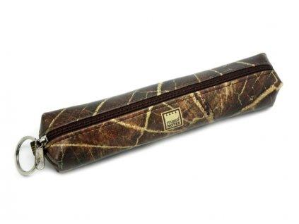 Pouzdro na tužky TEXTURES - Wood - malé