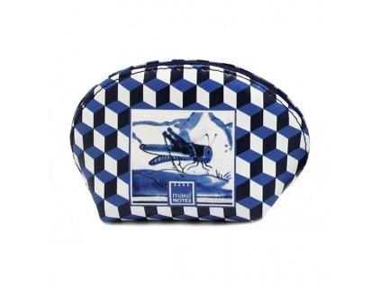 Peněženka FAUNA TILES - modrá