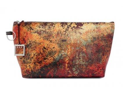 Kosmetická taštička TEXTURES - Rust