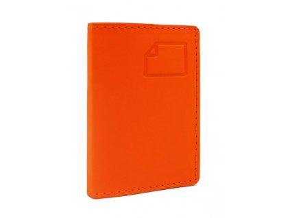 Vizitkář FISCAGOMMA COLORS - oranžový