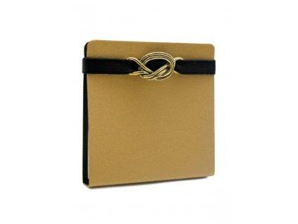 Samolepící bloček s deskami CLASSIC GOLD