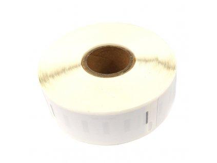 Etikety / štítky pro tiskárny DYMO - typ 11355, S0722550 - kompatibilní - 19 mm x 51 mm - 500 kusů, bílá (univerzální štítky)