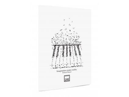 Notový sešit A5 MUSIC R.Wagner bílé desky