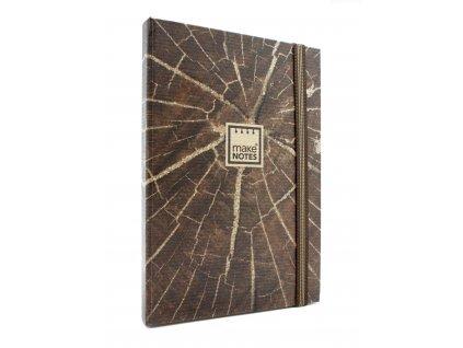 Zápisník TEXTURES - Wood