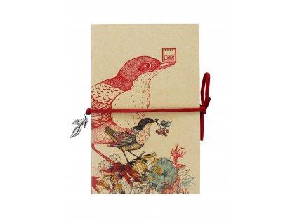 Sada 3 zápisníků COLOURFUL BIRDS