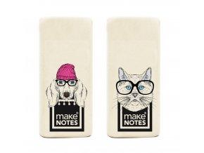 Mazací guma PORTRAIT DOG (2ks)