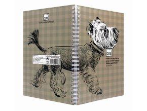 Zápisník A5 3 DOGS