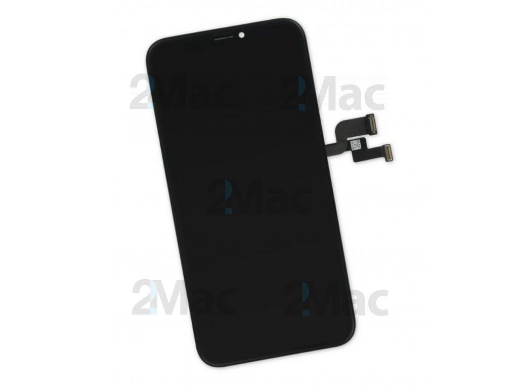 LCD displej pro Apple iPhone X Black - Premium High Copy (GX)