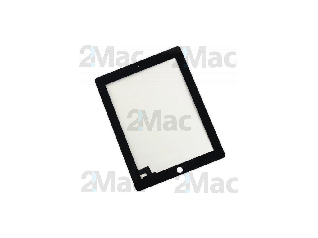 Přední dotykové sklo (touch screen) pro Apple iPad 2 Black - High Copy