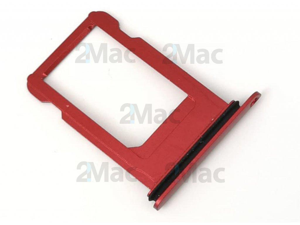 šuplík na SIM kartu iPhone 8 - Red