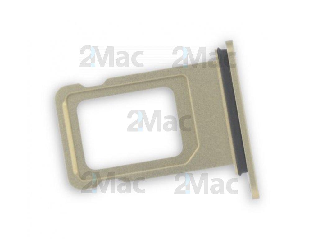šuplík na SIM kartu iPhone XR - (Žlutá)