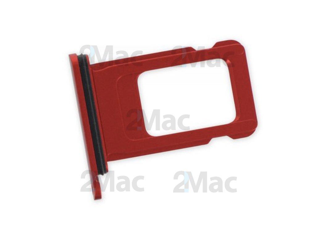 šuplík na SIM kartu iPhone 11 - Red