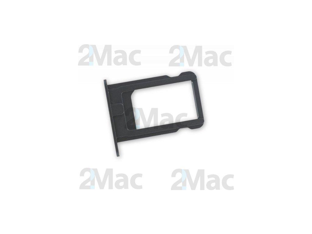 šuplík na SIM kartu iPhone 5 - Black