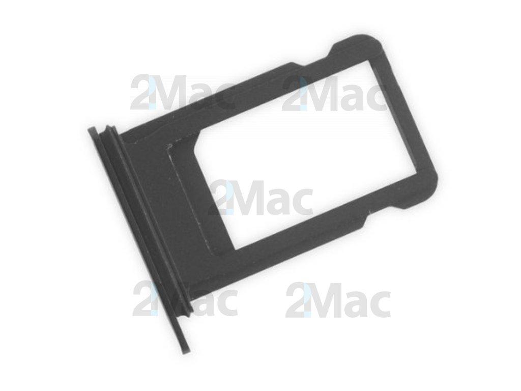 šuplík na SIM kartu iPhone 7 Plus - Jet Black