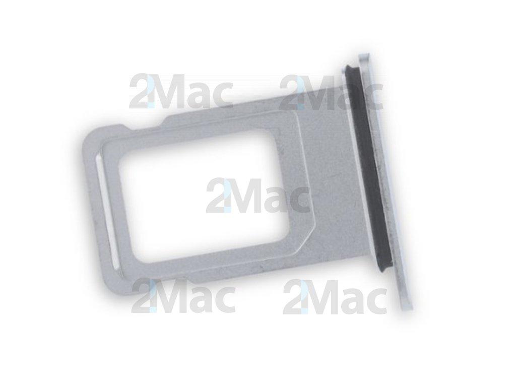 šuplík na SIM kartu iPhone XR - (Bílá)